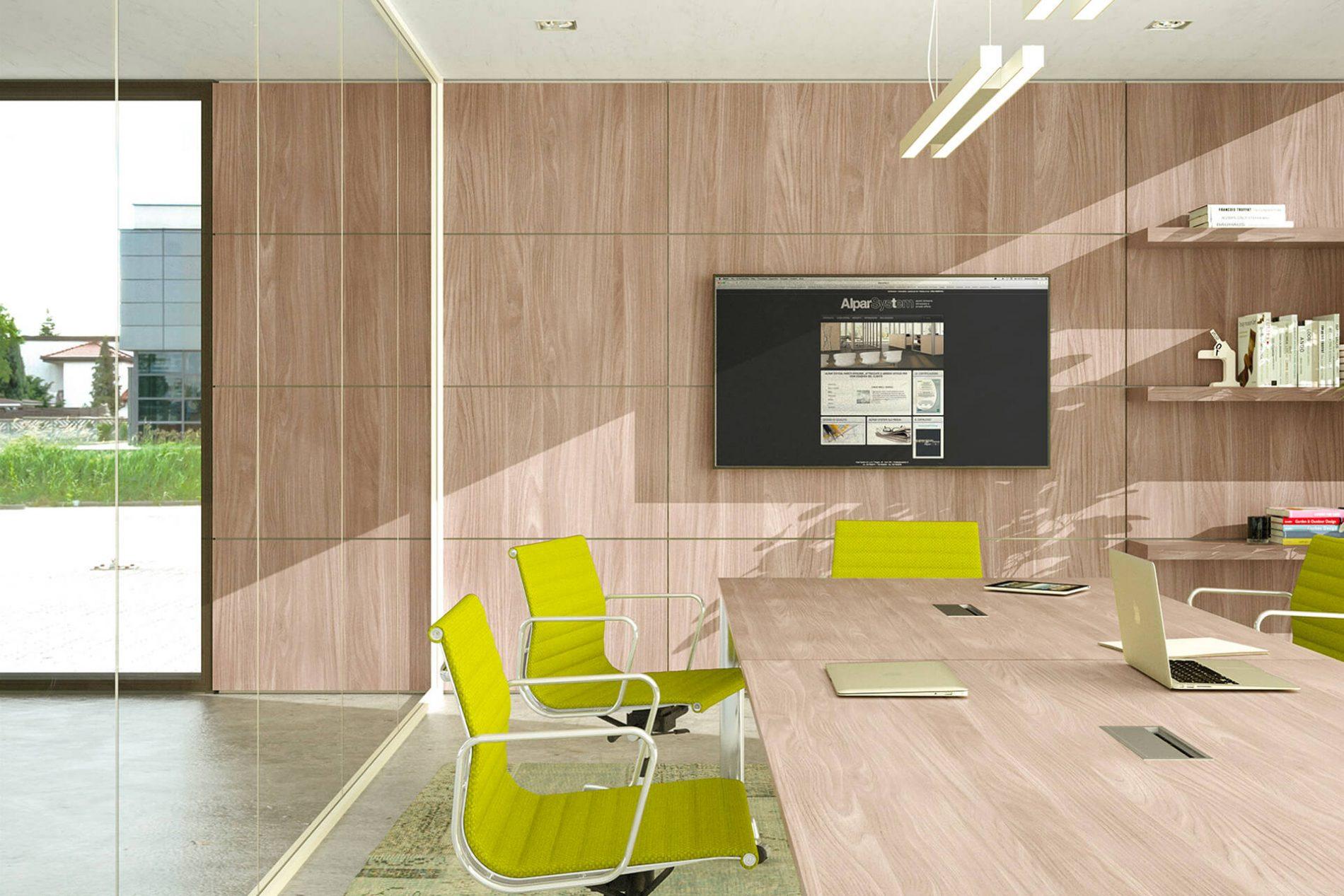 Arredamento ufficio produzione pareti e arredi per ufficio for Arredi per pareti