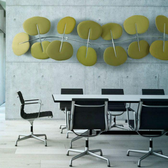 pannelli acustici decorativi a parete