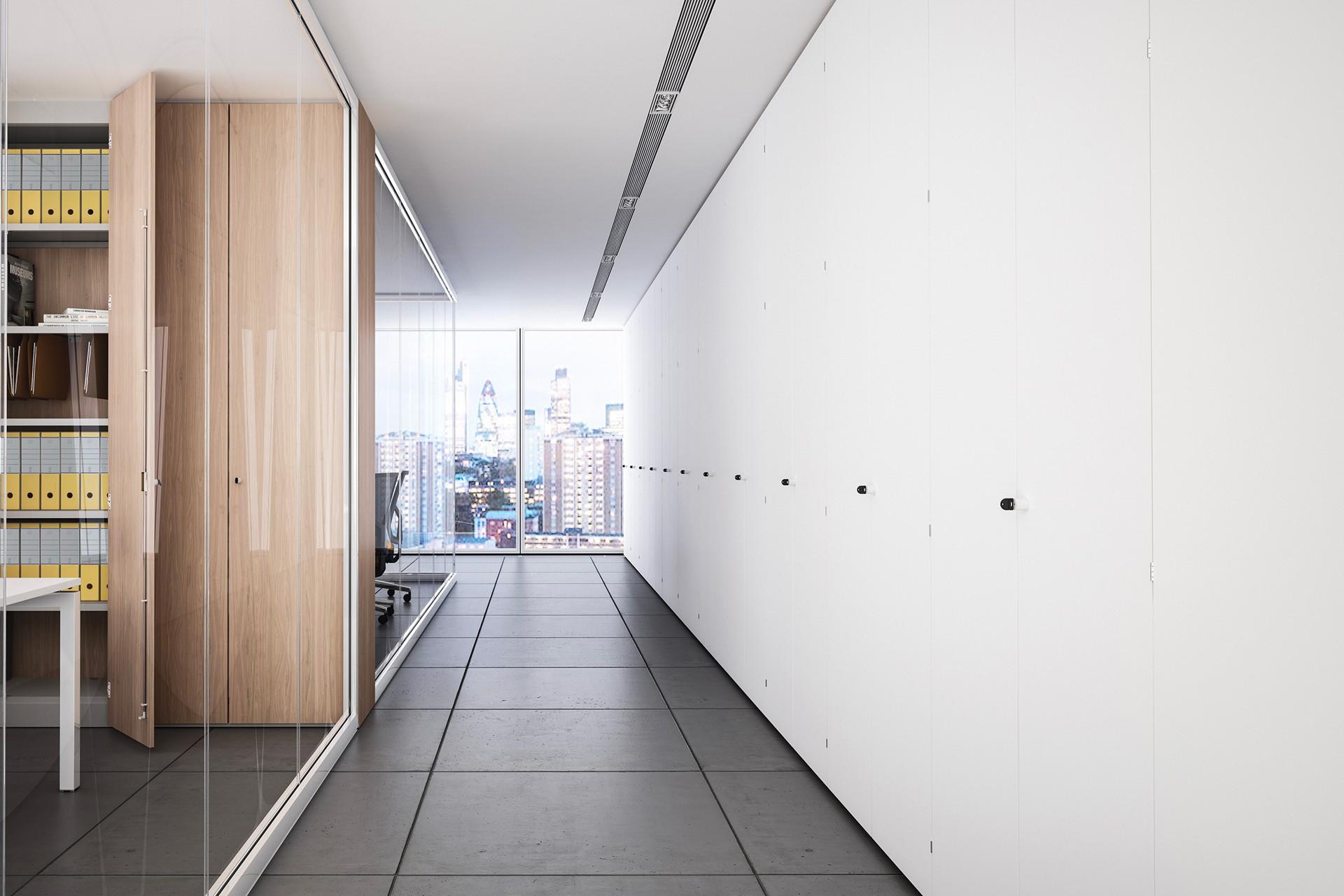 Pareti Fotografie : Pareti attrezzate ufficio progettazione e produzione pareti