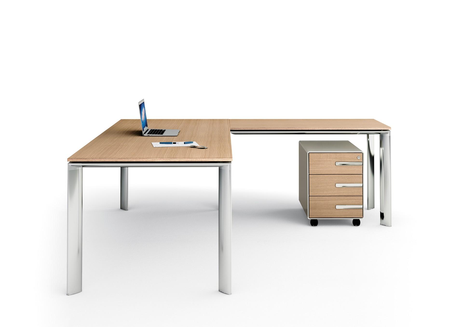 Scrivania in legno ufficio - Tavoli e scrivanie in legno ...